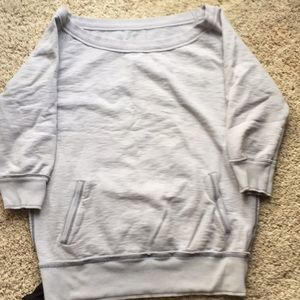 Gap off the shoulder shirt large